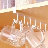 Cuci Gudang Kabinet Logam Hanging Rack Kamar Mandi Dapur Organisasi Free Nail Seamless Hook Intl