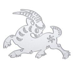 Metal Cutting Dies Kartun Domba Scrapbook Kerajinan Tangan Dekorasi-Intl