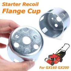 Metal Starter Recoil Flange Cup Silver untuk Honda GX160 GX200 Mesin 4.5x6 Cm-Intl