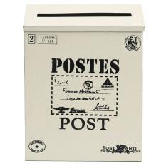 Toko Logam Timah Mengunci Kartu Pos Kuno Tahan Air Kotak Pesan Wall Hanging Kotak Mail Baru Lembut Putih Intl Online Hong Kong Sar Tiongkok