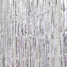 Metalik Fringe Tirai Pesta Foil Perada Kamar Rumah Stage Wall Decor Door Ukuran Dekorasi: 1