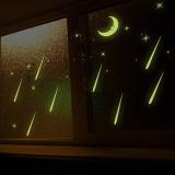 Review Terbaik Hujan Meteor Bulan Bintang Malam Pencahayaan Stiker Dinding Rumah Stiker Pvc Mural Vinil Paper House Dekorasi Wallpaper Ruang Tamu Kamar Tidur Dapur Gambar Seni Diseduh Sendiri Untuk Anak Remaja Dewasa Bayi Senior Bibit International