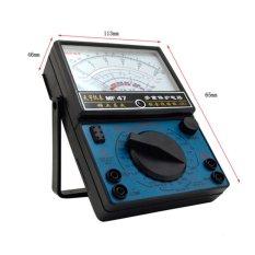 MF-47 Analog Multimeter Voltmeter Ammeter Ohmmeter Baterai Tester-Intl