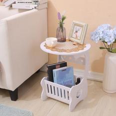 MH515 Small Round Coffee Table / Meja Ngopi Bulat samping sisi  PROMO TERLAKU!
