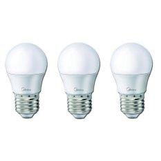 Midea LED Bulb 3W E27 - Putih - 3 Buah