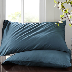Mido House60/74 Cm Kain Satin Warna Solid Tunggal Sarung Bantal Sarung Bantal