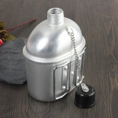Jual Military Stainless Steel Canteen Water Bottle With Cup Intl Tiongkok