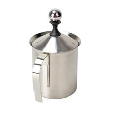 Promo Toko Milk Frother Cappuccino 800Ml Stainless Steel Milk Creamer Foam Double Mesh