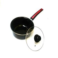 Milkpan Enamel 20 cm Panci Enamel 20 cm dengan handle anti panas