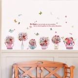 Harga Mimosifolia Dilukis Dengan Tangan Basins Stiker Dinding Pvc Stiker Wallpaper Mural Seni Barang Dekorasi Rumah Tangga Dewasa Children Wallpaper Internasional Yg Bagus