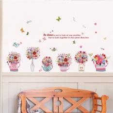 Jual Beli Mimosifolia Dilukis Dengan Tangan Basins Stiker Dinding Pvc Stiker Wallpaper Mural Seni Barang Dekorasi Rumah Tangga Dewasa Children Wallpaper Internasional Di Hong Kong Sar Tiongkok