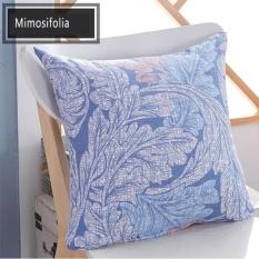 Mimosifolia Multifunctional Musim panas AC selimut bantal kantor istirahat makan siang selimut bantal mobil lumbal sisa bantal anak-anak di TK selimut kecil (sarung bantal + inti)- intl
