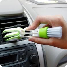 Mini Duster untuk Ventilasi Udara Mobil, Set dari 4 Automotive Air Conditioner Cleaner dan Sikat, dust Collector Kain Pembersih Alat untuk Keyboard Window Leaves Blinds Shutter
