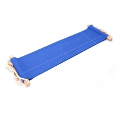 Mini Office Foot Rest Stand Adjustable Meja Kaki Hammock Kaki Kaki Kaki (Biru)