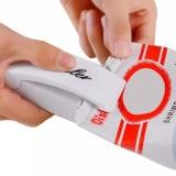 Jual Mini Portable Hand Sealer Alat Perekat Pengemas Press Kemasan Plastik Serbaguna Putih Branded Murah
