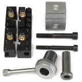 Beli Mini Quick Change Tool Post Holder Kit Set Untuk 7X10 12 14 Multifix Toolholder Terbaru