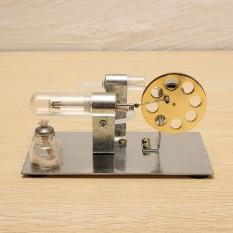 Mini Mesin Sterling Model Miniatur Bertenaga Uap Toy Percobaan Fisika-Intl