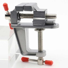 Beli Mini Meja Aluminium Miniatur Clamp Untuk Diy Perhiasan Kerajinan Cetakan Fixed Alat Perbaikan Internasional Terbaru