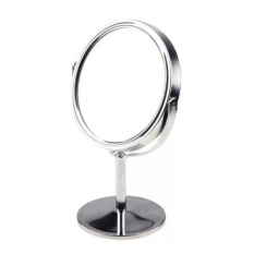 Obral Mini Travel Mirror Double Sided With Magnification Function 15Cm Intl Murah