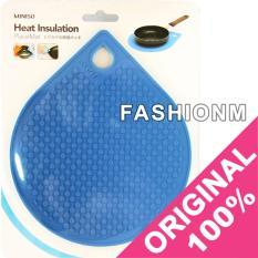 Spesifikasi Miniso Heat Insulation Trivet Placemat Heat Resistant Pads Alas Tatakan Panci Panas Blue Yg Baik