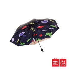 Diskon Besarminiso Official Undersea World Uv Protection Umbrella Black 07E2 8012Mn