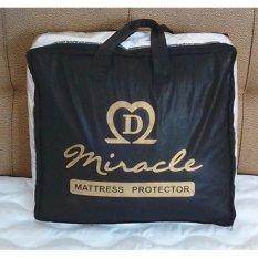 Diskon Miracle Matras Protector 200 X 200 Cm Five Star Premium Quality Pelindung Kasur Alas Kasur Miracle