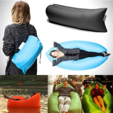 MITPS 6 Warna Inflatable Sofa Outdoor Tidur Relaksasi Air Sofa Folding High Quality Water-proof Folding Inflatable Sofa (hitam) -Intl