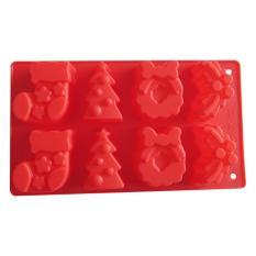 Natal Pola Silikon Cokelat/Cetakan Puding untuk Dekoratif Snack Membuat-IntlIDR43000. Rp 45.900