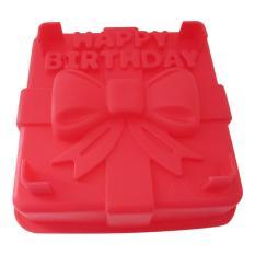 Harga Mitra Loka Cetakan Kue Dan Puding Cakemold Happy Birthday Merah Satu Set