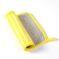 Miucci Ini Bisa Dihubungkan Ke Double Sided Non-Stick Minyak Cuci Handuk (Kuning)