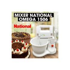 Mixer Dengan Mangkok Putar National Omega  Alat Membuat Kue Mikser
