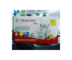 mixer TRISONIC white terbaru dengan wadah bowl untuk mengaduk