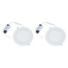 Penawaran Istimewa Miyalux Lampu Downlight Panel 18Watt Bulat Warm White 2Buah Terbaru