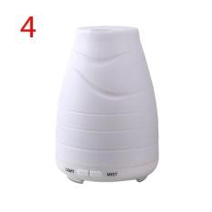 Miyifushi 100 Ml Minyak Esensial Diffuser, Portable Ultrasonic Aroma Cool Mist Air Humidifier Purifiers dengan 7 Warna LED Lights Mengubah untuk Rumah Kantor-Internasional
