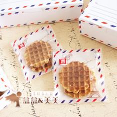 Jual Beli Online Miyuki Miyabe Packing Plastik Cookies Kantong Pembungkus Baking Tools Envelove 2017023