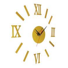 Harga Desain Modern Diy 3D Big Clock Stiker Dinding Internasional Original