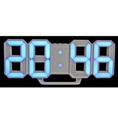 Pusat Jual Beli Modern Digital Led Wall Clock Table Desk Night Electric Clock Alarm Watch Multi Functional Led Clock 24 Or 12 Hour Display Tiongkok