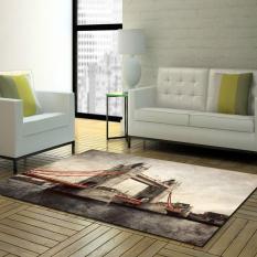 Ulasan Lengkap Modern Dustproof Floor Mat Anti Slip Mudah Dicuci Dicetak Ruang Tamu Mat Ramah Lingkungan Kamar Mandi Karpet 50 Cm X 80 Cm Intl