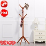 Jual Modern High End Tahan Lama Kayu Solid Gaya Eropa 8 Hook Coat Rack Intl