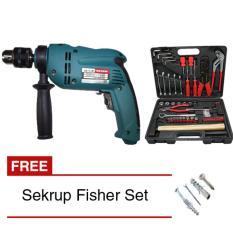 MODERN M-2150 Paket Mesin Bor Tembok + Tool Kit KENMASTER + Sekrup