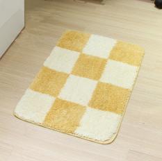 Modern Minimalis Grid Pola Hot Sale Resistant Bedroom BathroomMat Ruang Tamu Karpet Keset Meja Kopi Lorong Lantai Mats