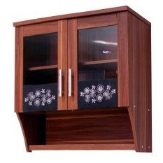Harga Modesto Rak Dapur Gantung 2 Pintu Kaca 821 Khusus Jabodetabek Dan Spesifikasinya