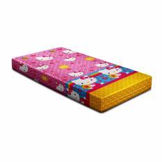 Toko Monalisa Sarung Kasur Pink Kitty 90X200X15 Termurah