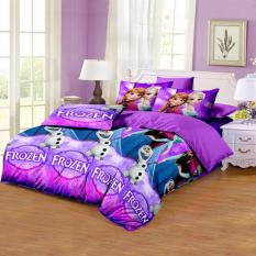Review Toko Monalisa Sprei Disperse Purple Frozen Uk 120X200