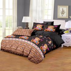 Harga Monalisa Sprei Disperse Teddy Bear Uk 120X200 Seken