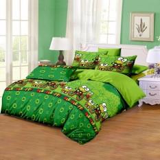 Katalog Monalisa Sprei Green Keroppi 160X200 Monalisa Terbaru