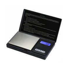 Moob Perhiasan Skala Digital Pocket Scale 200 Oleh 0.01gm untuk Reload Dapur Jewellery Gold atau Koin-Hitam