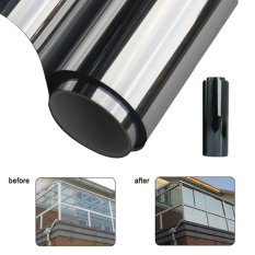 Toko Moonar 2 M 50 Cm Window Film One Way Mirror Isolasi Stiker Solar Reflektif Intl Murah Di Tiongkok