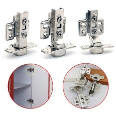 Moonar 35mm Lembut Tutup Besi Hydraulic Cabinet Dapur Door Hinges (Full Overlay)-Intl