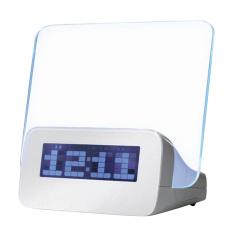 Kualitas Moonar Memimpin Bercahaya Neon Alarm Jam Digital Moonar